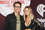 Bobby Bones (L) and Amy attend the 2018 iHeartRadio Music Festival at T-Mobile Arena on September 21, 2018 in Las Vegas, Nevada.