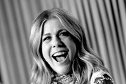 Image has been converted to black and white. Color version available.) Special Guest Rita Wilson speaks onstage at 'All About Nora' at the 2019 TCM 10th Annual Classic Film Festival on April 13, 2019 in Hollywood, California.