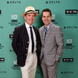 Jefferson Mays and Dave Karger Photos