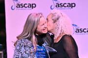 Natalie Merchant and Nora Guthrie at the 2019 ASCAP Foundation Honors at Jazz at Lincoln Center on December 11, 2019 in New York City.