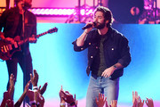 Thomas Rhett performs onstage during the 2019 American Music Awards at Microsoft Theater on November 24, 2019 in Los Angeles, California.