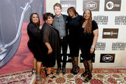 (L-R) Regina and Ann McCrary of The McCrary Sisters, Anderson East, Alfreda, Deborah McCrary of The McCrary Sisters attend the 2018 Americana Music Honors and Awards at Ryman Auditorium on September 12, 2018 in Nashville, Tennessee.