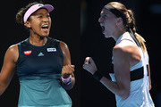 Petra Kvitova and Naomi Osaka Photos Photo