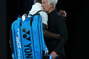 John McEnroe Frances Tiafoe Photos Photo