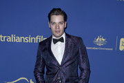 Dominic Sherwood attends the 2019 Australians In Film Awards at InterContinental Los Angeles Century City on October 23, 2019 in Los Angeles, California.