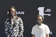 2 Chainz and gust attends the 2019 BET Awards on June 23, 2019 in Los Angeles, California.