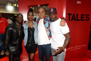 (L-R) Elijah Kelley, Justine Skye, Irv Gotti, and Thomas Jones attend the World Of BET during the BET Experience Fan Fest at Los Angeles Convention Center on June 22, 2019 in Los Angeles, California.