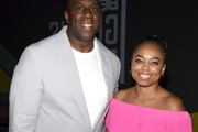 Magic Johnson Jemele Hill Photos Photo