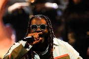 T-Pain performs onstage at the BET Hip Hop Awards 2019 at Cobb Energy Center on October 5, 2019 in Atlanta, Georgia.