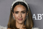Jessica Alba attends 2019 Baby2Baby Gala Presented By Paul Mitchell  at 3LABS on November 09, 2019 in Culver City, California.