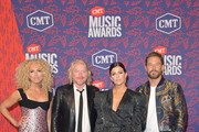 (L-R) Kimberly Schlapman, Philip Sweet, Karen Fairchild and Jimi Westbrook of Little Big Town attend the 2019 CMT Music Awards - Arrivals at Bridgestone Arena on June 05, 2019 in Nashville, Tennessee.