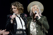 Tanya Tucker and Brandi Carlile attend the 2019 CMT Next Women Of Country Celebration at CMA Theater at the Country Music Hall of Fame and Museum on November 12, 2019 in Nashville, Tennessee.