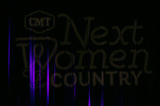 (L-R) Martina McBride, Leslie Fram, Brandi Carlile and Tanya Tucker speak onstage during the 2019 CMT Next Women Of Country at CMA Theater at the Country Music Hall of Fame and Museum on November 12, 2019 in Nashville, Tennessee.