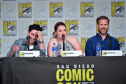 Ben Feldman, Lauren Ash, and Matt Davis speaks at the TV Guide Magazine Fan Favorites 2019 during 2019 Comic-Con International at San Diego Convention Center on July 19, 2019 in San Diego, California.