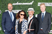 Nordstrom Co-President Erik Nordstrom, Diane Von Furstenberg, Christian Louboutin, and Nordstrom Co-President of Stores Jamie Nordstrom attend the 2019 Couture Council Luncheon Honoring Christian Louboutin on September 04, 2019 in New York City.