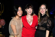Maya Erskine, Rachel Bloom and Anna Konkle attend the Governors Ball during the 2019 Creative Arts Emmy Awards on September 15, 2019 in Los Angeles, California.