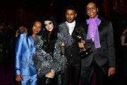 (L-R) Zaldy Goco, Susanne Bartsch, Jeffrey Bowyer-Chapman and RuPaul attend the Governors Ball during the 2019 Creative Arts Emmy Awards on September 14, 2019 in Los Angeles, California.