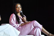 Jemele Hill speaks at 2019 ESSENCE Festival Presented By Coca-Cola at Ernest N. Morial Convention Center on July 05, 2019 in New Orleans, Louisiana.