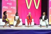 Dr. Jess, Asante McGee, Rebecca King Crews, and Terry Crews 2019 ESSENCE Festival Presented By Coca-Cola at Ernest N. Morial Convention Center on July 05, 2019 in New Orleans, Louisiana.
