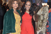 (L-R) Doralys Britto, Robin Givens and Nyakim Gatwech attend the 2019 Essence Black Women in Hollywood Awards Luncheon at Regent Beverly Wilshire Hotel on February 21, 2019 in Los Angeles, California.
