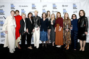 """Cast and crew of """"Suspiria"""", winners of the Robert Altman Award, pose in the press room during the 2019 Film Independent Spirit Awards on February 23, 2019 in Santa Monica, California."""