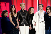 """Cast and crew of """"Suspiria"""" accepts the Robert Altman Award onstage during the 2019 Film Independent Spirit Awards on February 23, 2019 in Santa Monica, California."""