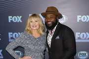 NEW YORK, NY  MAY 13:  Kim Cattrall and Malcolm-Jamal Warner attend the 2019 FOX Upfront at Wollman Rink, Central Park on May 13, 2019 in New York City.