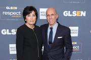 Marilyn Katzenberg and Jeffrey Katzenberg attend the 2019 GLSEN Respect Awards at the Beverly Wilshire Four Seasons Hotel on October 25, 2019 in Beverly Hills, California.