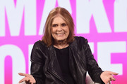 Retransmission with alternate crop.) Gloria Steinem speaks onstage during The 2019 MAKERS Conference at Monarch Beach Resort on February 6, 2019 in Dana Point, California.