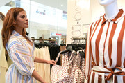 Eva Mendes visits New York & Company Store at New York & Company on March 15, 2019 in Burbank, California.