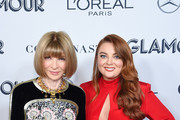 Anna Wintour and Samantha Barry attend the 2019 Glamour Women Of The Year Awards at Alice Tully Hall on November 11, 2019 in New York City.