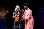 Tory Burch and Danai Gurira are seen onstage at the 2019 Glamour Women Of The Year Awards at Alice Tully Hall on November 11, 2019 in New York City. (Photo by Ilya S. Savenok/Getty Images for Glamour