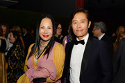 Eva Chow, wearing Gucci (L) and Lee Byung-hun attend the 2019 LACMA Art + Film Gala Presented By Gucci at LACMA on November 02, 2019 in Los Angeles, California.