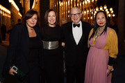 (L-R) LACMA Trustee Victoria Jackson, LACMA Trustee Ann Colgin, Joe Wender, and LACMA Trustee Eva Chow, wearing Gucci, attend the 2019 LACMA Art + Film Gala Presented By Gucci at LACMA on November 02, 2019 in Los Angeles, California.