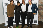 Alejandro Aranda, Wynne Bennett, Bill T. Jones and Twin Shadow attend the 2019 Live Arts Gala at The Caldwell Factory on March 25, 2019 in New York City.