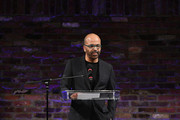 Jeffrey Wright speaks at the 2019 Live Arts Gala at The Caldwell Factory on March 25, 2019 in New York City.