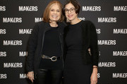 Gloria Steinem (L) and General Manager, Yahoo Entertainment, Lifestyle & MAKERS Lori Bongiorno attend The 2019 MAKERS Conference at Monarch Beach Resort on February 7, 2019 in Dana Point, California.
