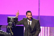 Marc Jacobs speaks onstage during the 2019 MTV Video Music Awards at Prudential Center on August 26, 2019 in Newark, New Jersey.