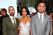 (L-R) Marc Jacobs, Pretty Vee and  Char Defrancesco attend the 2019 MTV Video Music Awards at Prudential Center on August 26, 2019 in Newark, New Jersey.