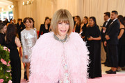 Anna Wintour attends The 2019 Met Gala Celebrating Camp: Notes on Fashion at Metropolitan Museum of Art on May 06, 2019 in New York City.
