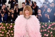 Anna Wintour attends The 2019 Met Gala Celebrating Camp: Notes on Fashionat Metropolitan Museum of Art on May 06, 2019 in New York City.