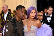 Travis Scott and Kylie Jenner attend The 2019 Met Gala Celebrating Camp: Notes on Fashion at Metropolitan Museum of Art on May 06, 2019 in New York City.