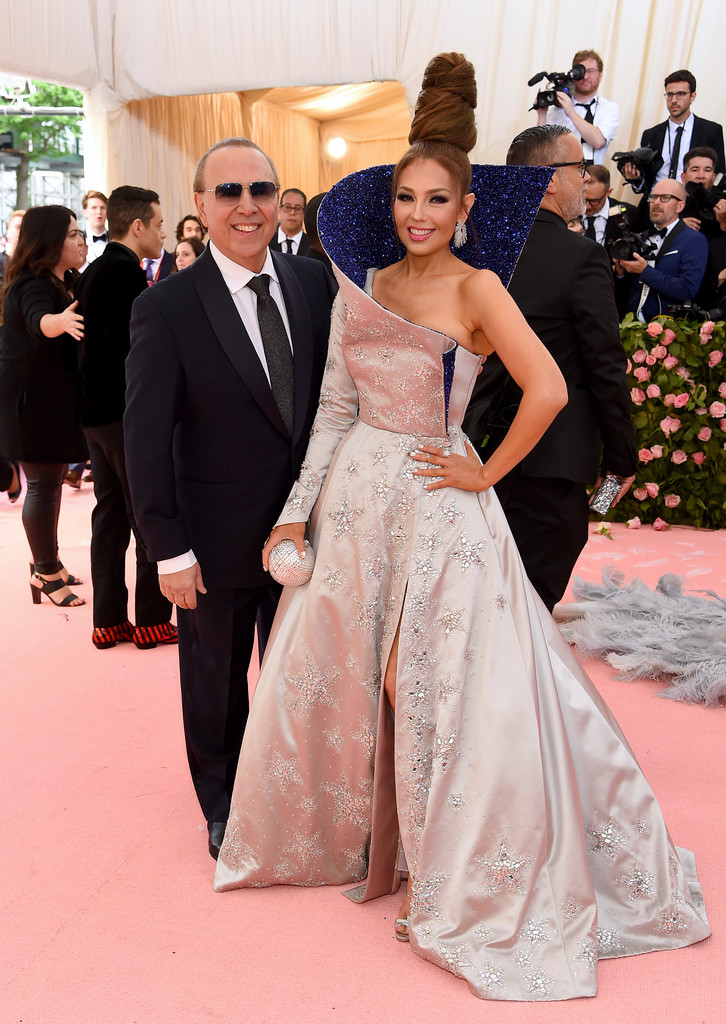 Tommy Mottola, Thalia - Thalia Photos - The 2019 Met Gala ...