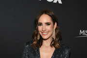 (EDITORIAL USE ONLY) Louise Roe attends the 2019 Miss Universe Pageant at Tyler Perry Studios on December 08, 2019 in Atlanta, Georgia.
