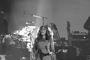 Image has been shot in black and white. Color version not available.)  Yolanda Adams performs onstage during MusiCares Person of the Year honoring Dolly Parton at Los Angeles Convention Center on February 8, 2019 in Los Angeles, California.