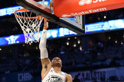 Russell Westbrook #0 of the Oklahoma City Thunder and Team Giannis lays it up against Team LeBron in the fourth quarter during the NBA All-Star game as part of the 2019 NBA All-Star Weekend at Spectrum Center on February 17, 2019 in Charlotte, North Carolina. Team LeBron won 178-164. NOTE TO USER: User expressly acknowledges and agrees that, by downloading and/or using this photograph, user is consenting to the terms and conditions of the Getty Images License Agreement. Mandatory Copyright Notice: Copyright 2019 NBAE