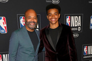 (L-R) Jeffrey Wright and Elijah Wright attend the 2019 NBA Awards presented by Kia at Barker Hangar on June 24, 2019 in Santa Monica, California.
