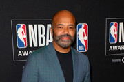 Jeffrey Wright poses in the press room during the 2019 NBA Awards presented by Kia at Barker Hangar on June 24, 2019 in Santa Monica, California.