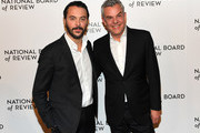 Danny Huston (R) and Jack Huston (L) attends the 2019 National Board Of Review Gala at Cipriani 42nd Street on January 08, 2019 in New York City.