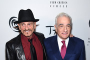 Joe Pesci and Martin Scorsese attend the 2019 New York Film Critics Circle Awards at TAO Downtown on January 07, 2020 in New York City.